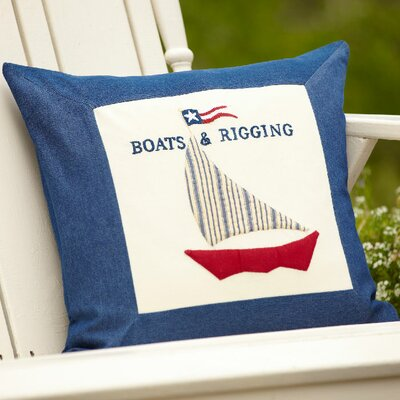 Boats & Rigging Throw Pillow