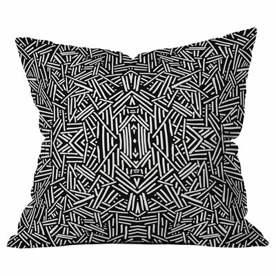 Radiate Outdoor Throw Pillow Size: 18 H x 18 W x 4 D