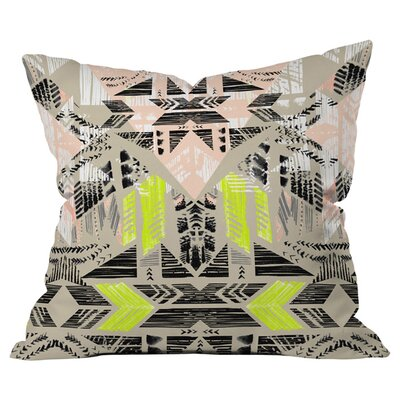 Nomad Morning Outdoor Throw Pillow Size: 20 H x 20 W x 4 D