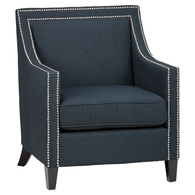 Luca Lounge Chair in Indigo