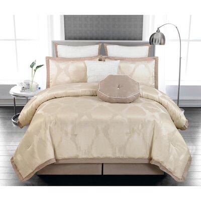 Penny 8 Piece Queen Comforter Set