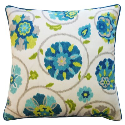 Mona Indoor/Outdoor Throw Pillow Color: Turquoise