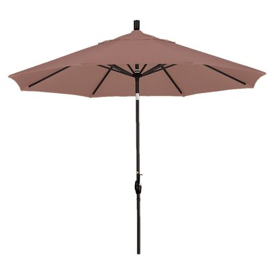 9 Callista Indoor/Outdoor Market Umbrella Color: Straw
