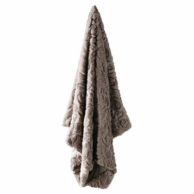 Rosa Faux Fur Throw