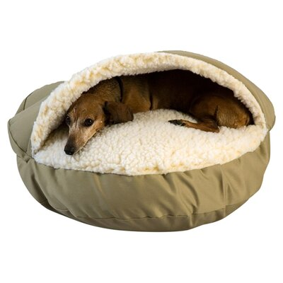 Snoozer Domino Orthopedic Pet Dome Size: X-Large (45 W x 45 D x 12 H)