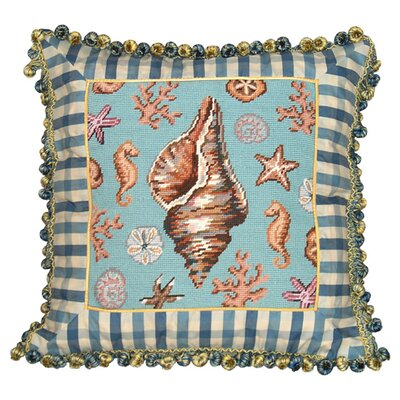 Under the Sea Wool Throw Pillow