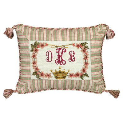Personalized Crown Wool Lumbar Pillow