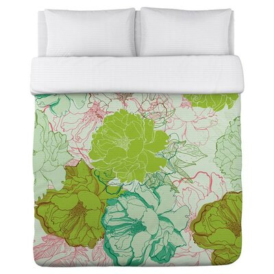 Natalia Duvet Cover Size: Full/Queen