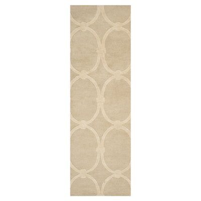 Modern Classics Taupe Rug Rug Size: Runner 26 x 8