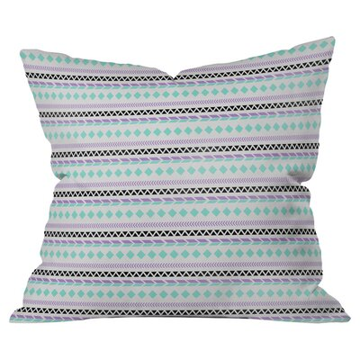 Native American Pattern Outdoor Throw Pillow Size: 16 H x 16 W x 4 D