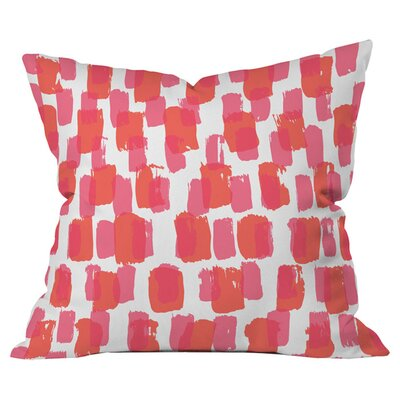 Paint Play 2 Outdoor Throw Pillow Size: 18 x 18