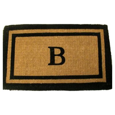 Personalized Imperial Doormat Mat Size: 18 x 30