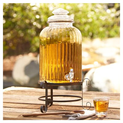 Ridley Clear Beverage Dispenser