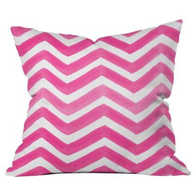 The Powder Room Outdoor Throw Pillow Size: 18 H x 18 W x 4 D