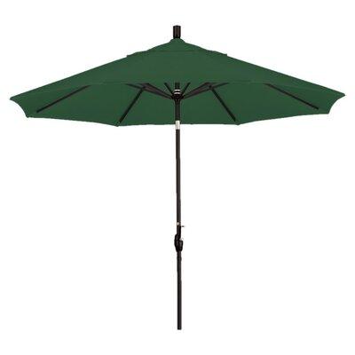 9 Callista Indoor/Outdoor Market Umbrella Color: Hunter Green