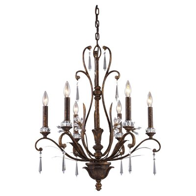 Bolton 6-Light Candle-Style Chandelier
