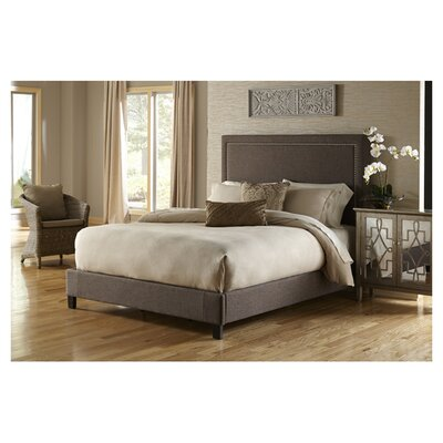 Upholstered Panel Bed Size: King