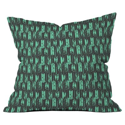 Arrow Outdoor Throw Pillow Size: 18 H x 18 W x 4 D