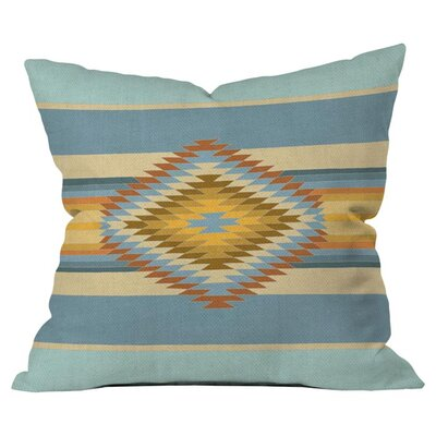 Fiesta Vintage Outdoor Throw Pillow Size: 16 H x 16 W x 4 D