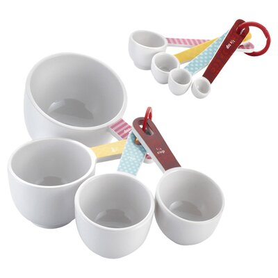 Cake Boss 8-Piece Measuring Cup and Spoon Set 55467