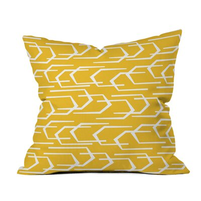 Going Places Sunkissed Outdoor Throw Pillow Size: 16 H x 16 W x 4 D