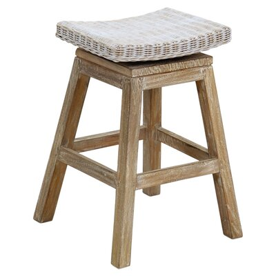 Carmen Teak Counter Bar Stool