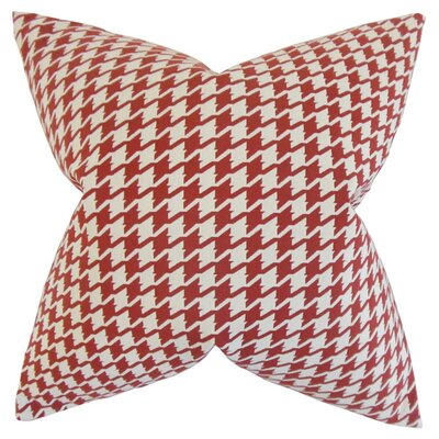 Wickham Cotton Throw Pillow Size: 20 x 20