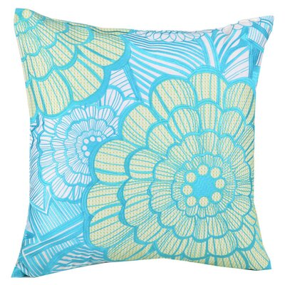 Bloom Linen Throw Pillow