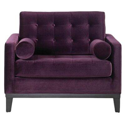 Centennial  Armchair Upholstery: Purple