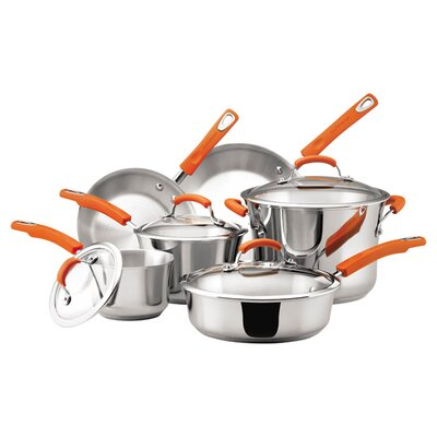 6-Piece Non-Stick Stainless Steel Cookware Set 75813