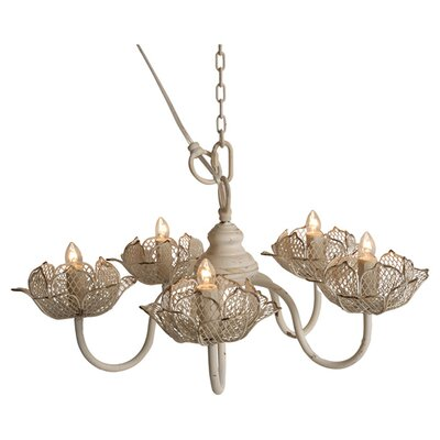 Clarissa 5-Light Candle-Style Chandelier
