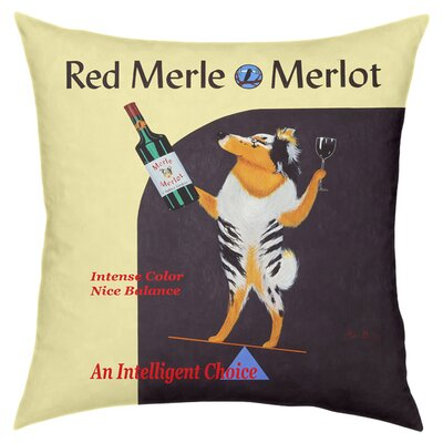 Merlot Throw Pillow