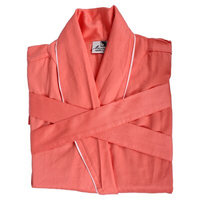 Ericson Robe in Coral Size: Medium