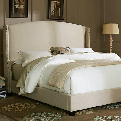 Shawna Upholstered Panel Bed Size: King