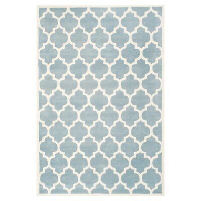 Tortola Rug in Blue Size: 3 x 5