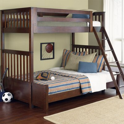 Abbot Bunk Slat Bed Size: Twin Over Full