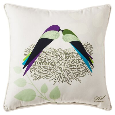 Love Birds Indoor/Outdoor Pillow
