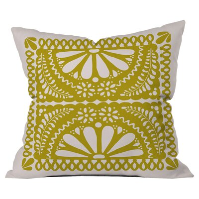 Fiesta De Flores Outdoor Throw Pillow