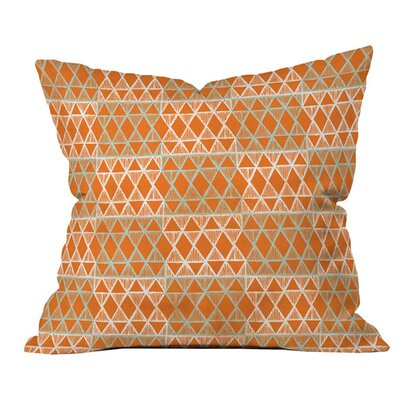 Summer Geo Outdoor Throw Pillow