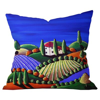 Tuscan Sun Outdoor Throw Pillow