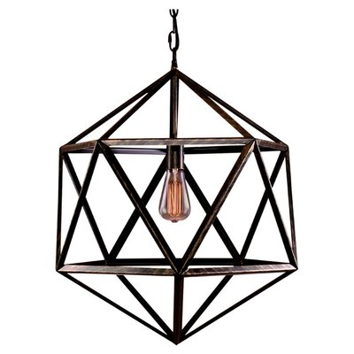 Carter 1-Light Geometric Pendant