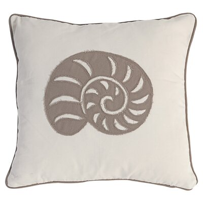 Nautilus 100% Cotton Throw Pillow