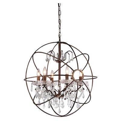 Kristin 6-Light Candle-Style Chandelier