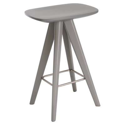 Annadale 26 Bar Stool Finish: Grey Lacquer