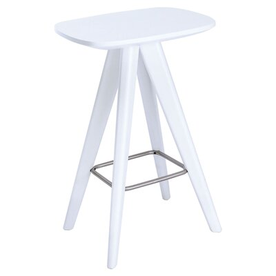 Annadale 26 Bar Stool Finish: White Lacquer