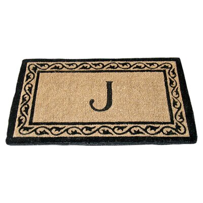 Personalized Norton Doormat Mat Size: 18 x 30