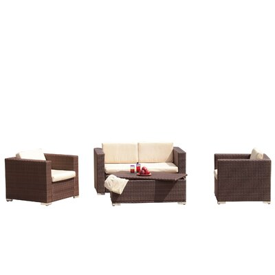 Home Loft Concept Asante 4 Piece Deep Seating Group at Sears.com