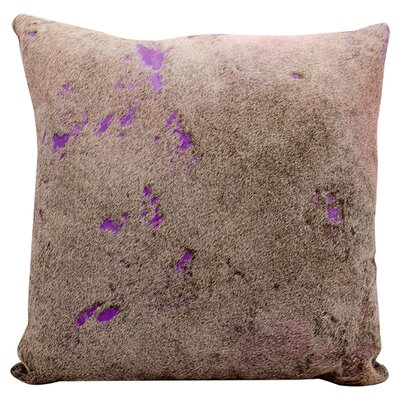 Starla Natural Hair on Hide Throw Pillow