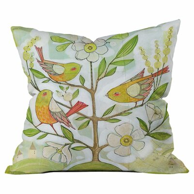 Cori Dantini Community Tree Throw Pillow Size: 18 x 18