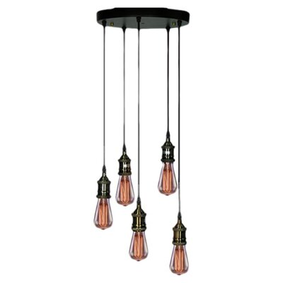 Corinne 5-Light Cascade Pendant